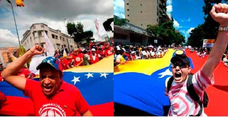 Chavismo y oposición
