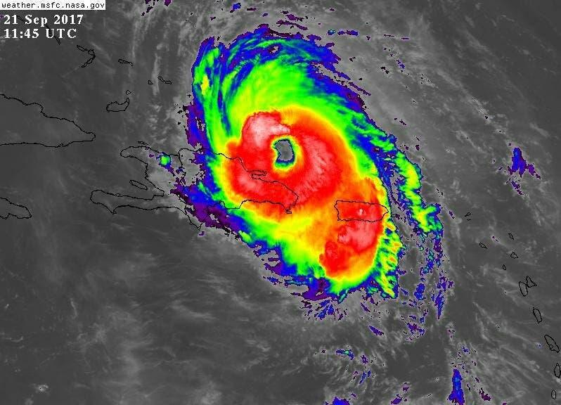 María: el huracán que afectó varias islas del Caribe simultáneamente