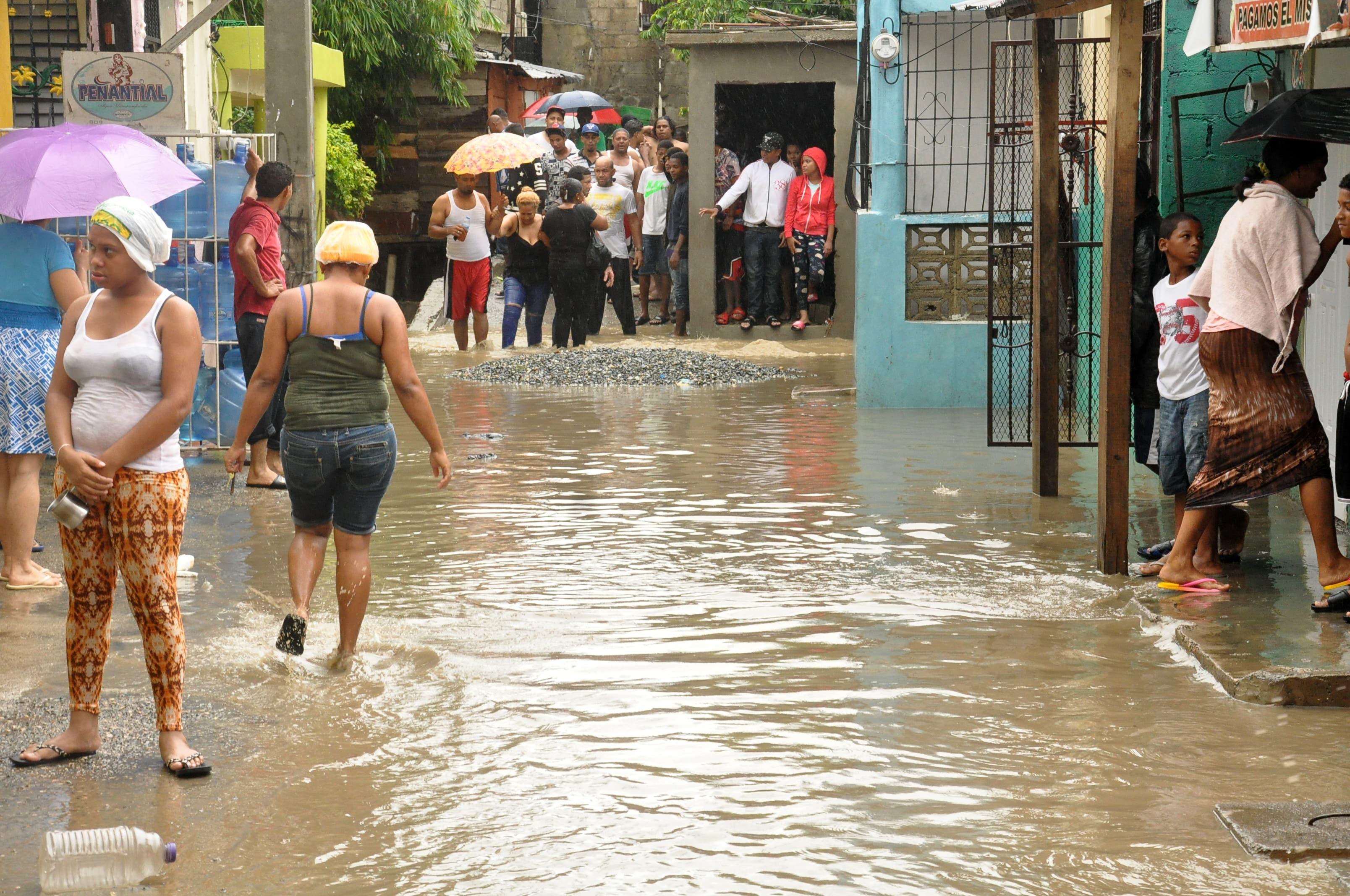 Las lluvias han provocado inundaciones en diferentes provincias/Foto: Fuente externa.