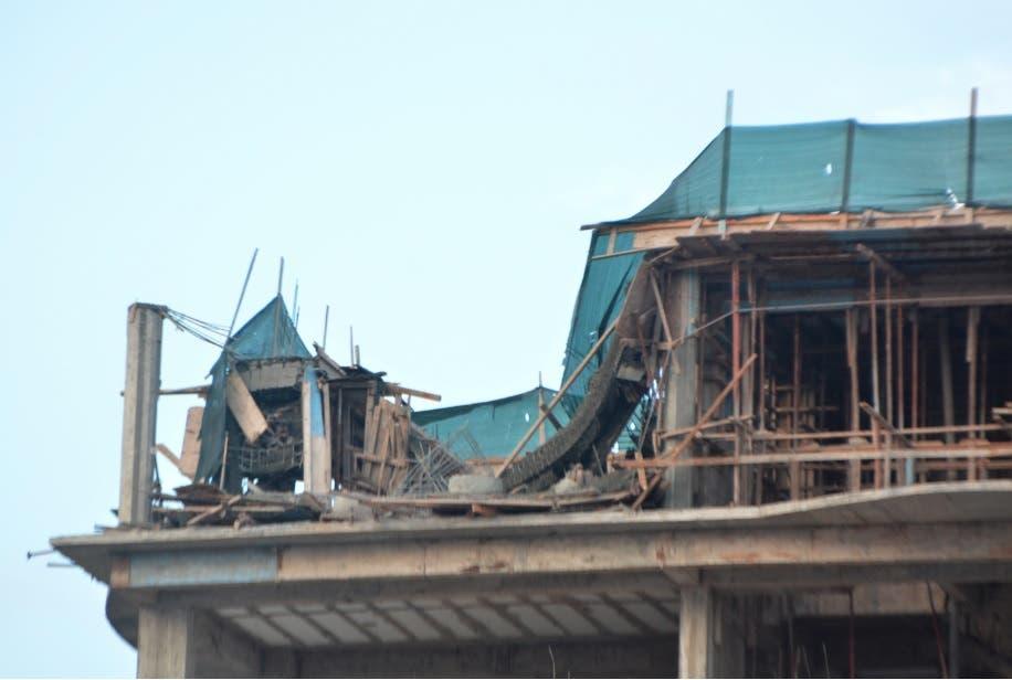 Codia investiga derrumbe provocó muerte de hombre en torre sector Pianiti