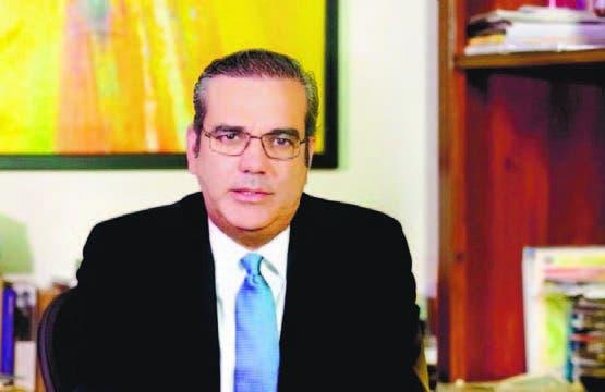 El economista y político Luis Abinader
