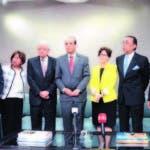 El pleno de la JCE, que preside Castaños Guzmán, se reunió ayer