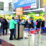 En el aeropuerto Las Américas se cancelaron catorce vuelos