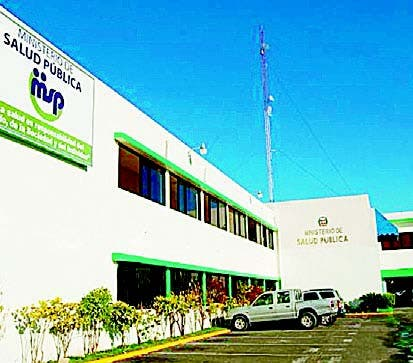 Fachada del Ministerio de Salud Pública.