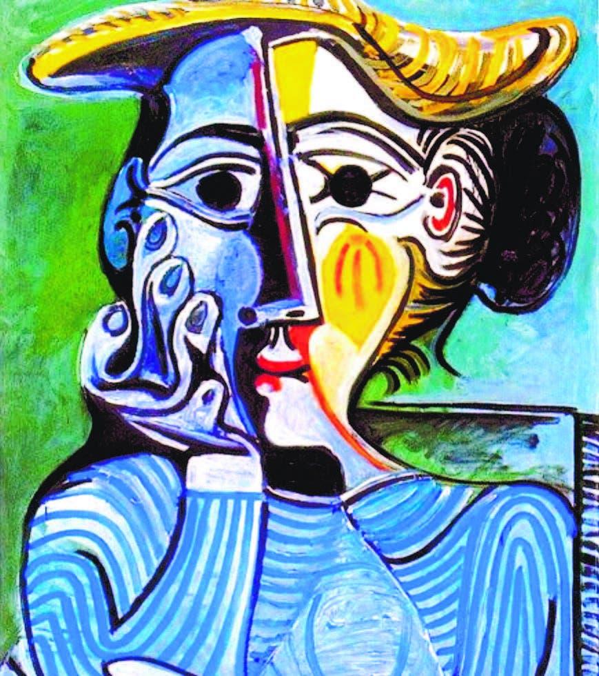 Galería de Mujeres Picassianas. Mujer con Gorro Amarillo. 1961