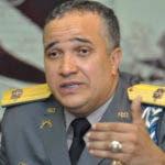 El director General de la Policía Nacional, Ney Aldrin Bautista Almonte