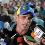 Opositor venezolano Henrique Capriles/Foto: Fuente exterma.