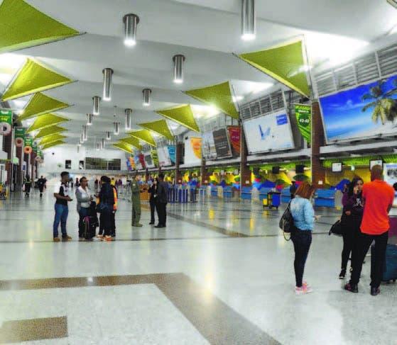 La afluencia de pasajeros en aeropuerto Las Américas fue mínima