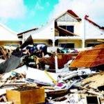 La furia de Irma devastó a la isla San Martin.