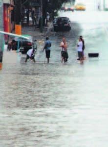 Las lluvías ocurrirán en algunos pueblos
