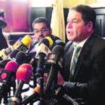Luis Florido es el negociador de la oposición de Venezuela en diálogo.