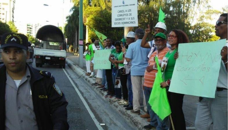 Agilizan salida de imputados presos en Najayo por caso Odebrecht