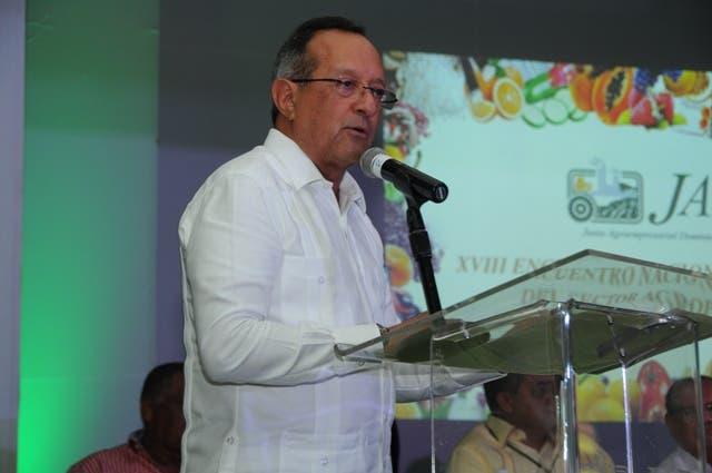 Ministro de Agricultura Ángel Estévez