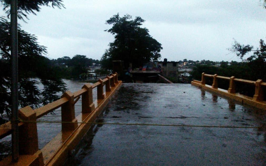 Video: Paso fronterizo de Dajabón hacia territorio haitiano habría colapsado