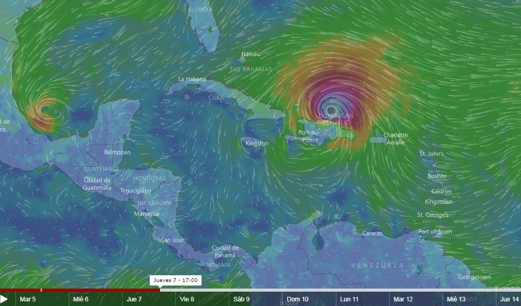 Esto están haciendo las instituciones públicas ante el eventual paso de Irma