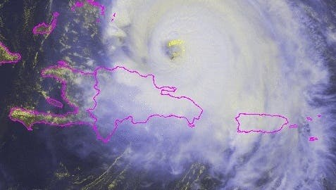¿Por dónde va el huracán María la tarde de este jueves?