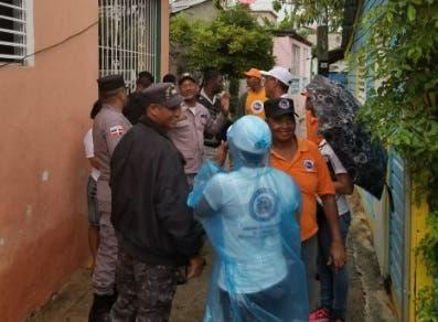 Realizan evacuaciones preventivas en Espaillat, San Cristóbal y otras provincias del país