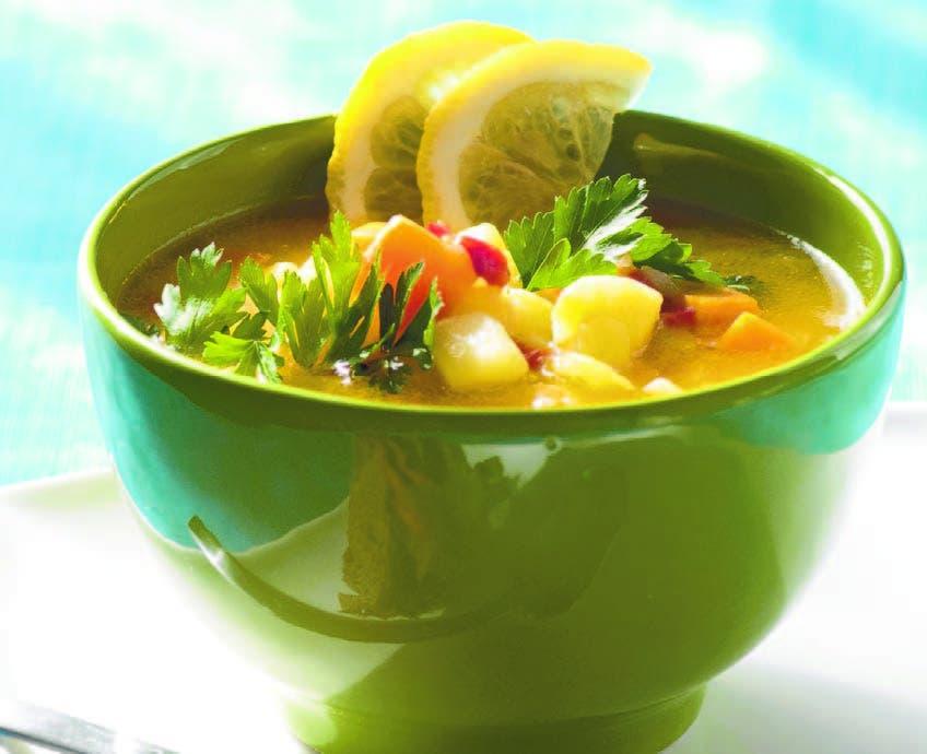 Las sopas más nutritivas: de pollo, vegetales, pescados, granos...