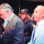 Tras la resolución del juez Francisco Ortega, ni Ángel Rondón, ni Díaz Rúa quisieron hablar a los medios