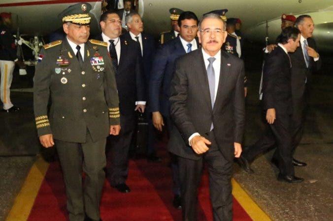 Presidente realiza recorrido por zonas dominicanas afectadas por el huracán