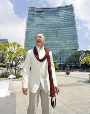 El dirigente de la compañía Amazon, Jeff Bezos. EFE/EPA/JAGADEESH NV