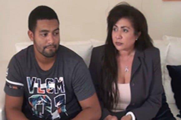 Marlin Martínez y su hijo Marlon, acusados del asesinato de Emely.