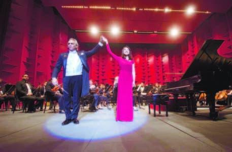 Molina, Jie Chen y Sinfónica en una noche memorable