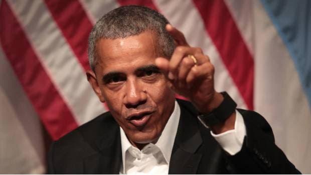 """Barack Obama: """"Gracias a la democracia, Donald Trump no logró el 100 % de lo que quería»"""