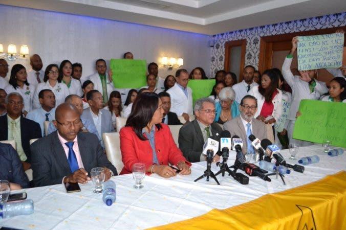 Colegio Médico Dominicano anuncia paralización de hospitales por 24 horas