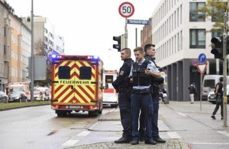 Un detenido tras herir a 4 personas en Múnich, Alemania