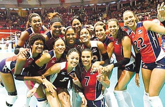 Dominicana y Puerto Rico inician con victorias Norceca de voleibol