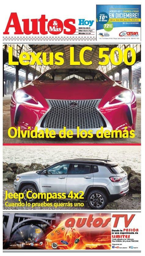 Autos y Mas. Miércoles 18 de octubre del 2017