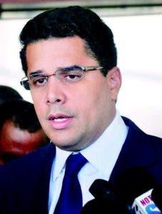 Alcalde del Distrito Nacional, David Collado, responde a periodistas