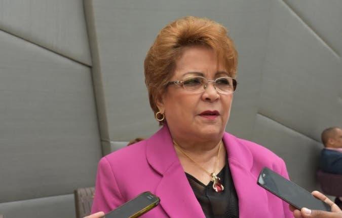 Alejandrina Germán.