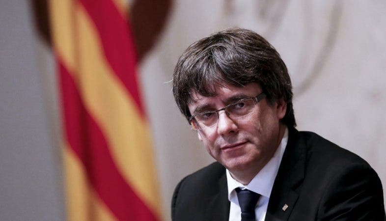 Carles Puigdemont/AFP