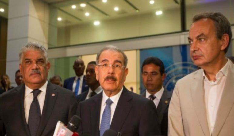 Diálogo Gobierno y oposicón