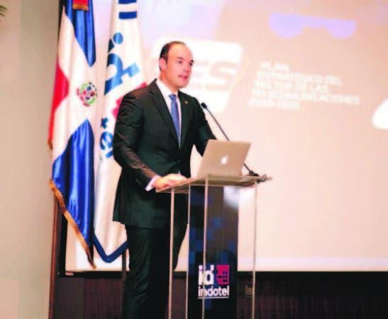 El presidente del Consejo Directivo del Indotel, José Del Castillo