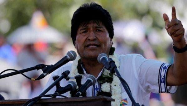 """Evo Morales denuncia que EE.UU. busca """"una intervención militar en Venezuela»"""