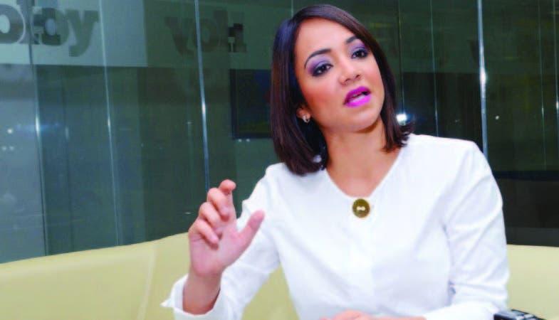 Faride Raful es diputada del Distrito Nacional por el PRM