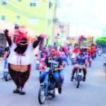 Gran entusiasmo en el recorrido por las calles
