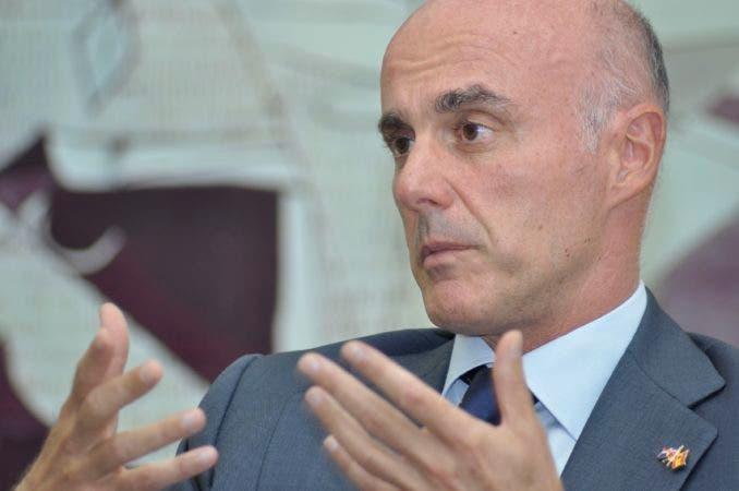 Alejandro Abellán, embajador español en República Dominicana. Foto: Pablo Matos.