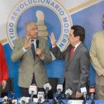 El Partido Revolucionario Moderno (PRM) presento la comisión organizadora de la convención designada por la dirección ejecutiva. Periodico HOY / Osi Méndez / 17-10-17
