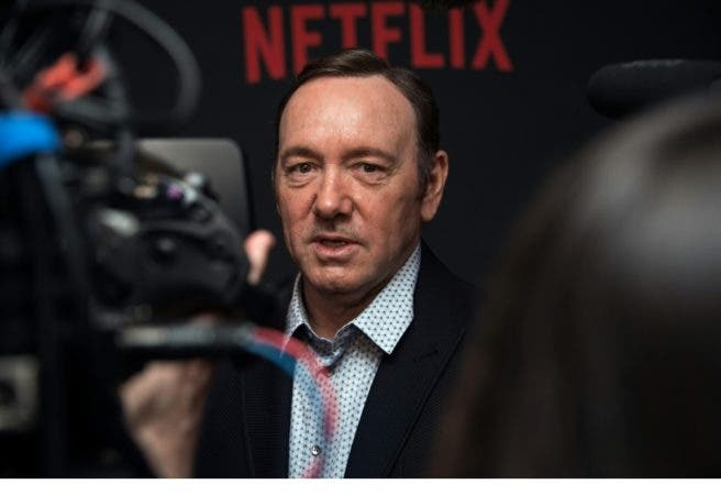 Kevin Spacey/AFP