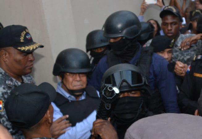 Manuel Rivas fue condenado a un año de prisión preventiva. Foto: José Adames Arias.