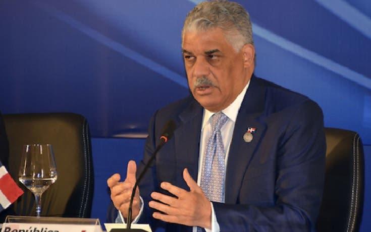 Miguel Vargas dejaría la Cancillería para buscar la candidatura presidencial de PRD en 2020