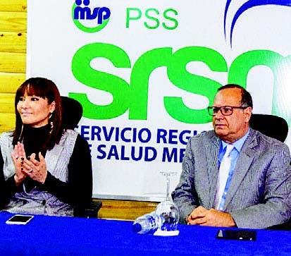 Mirna Font Frías y Nelson Rodríguez Monegro