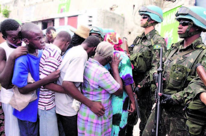 Misión Minustah no tendrá personal militar. Será compuesta por 7 unidades de policíastt y 295 agentes