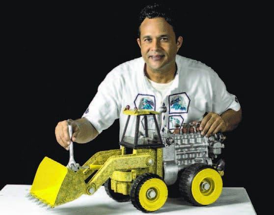 Nelson Barrera expondrá del 16 al 26 de octubre, en el primer nivel