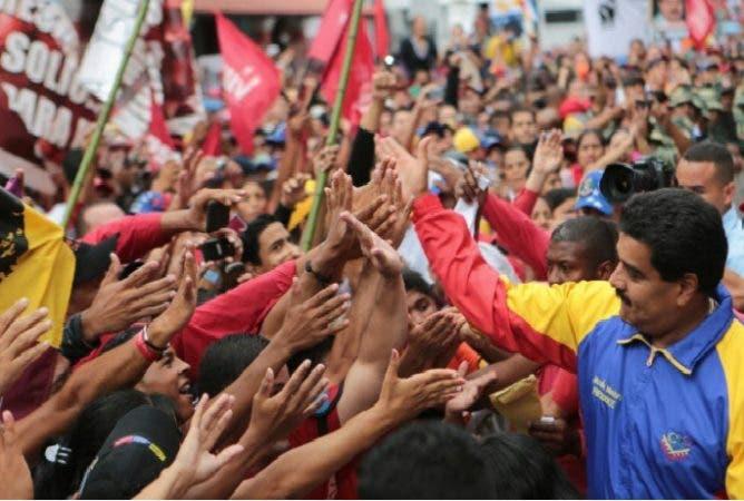 Nicolás Maduro en activismo
