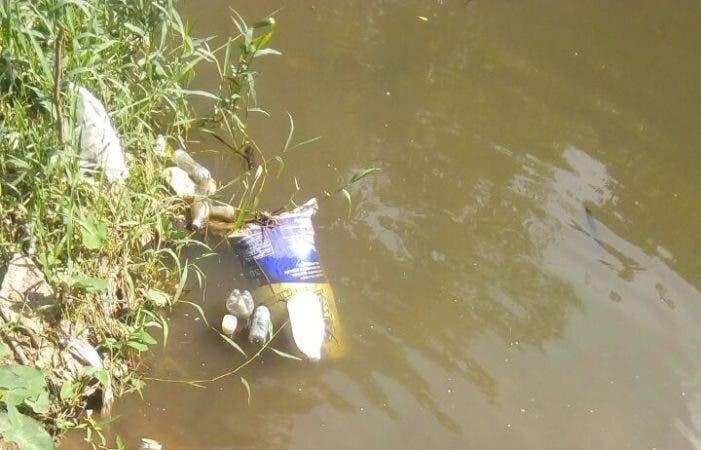 Río donde fue hallado el cadáver de Yuniol Ramírez